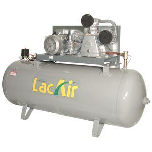 Lacme FixAir 40/500 - Compresseur fixe à courroie triphasé 42 m³/h sur cuve 500 litres (465221)