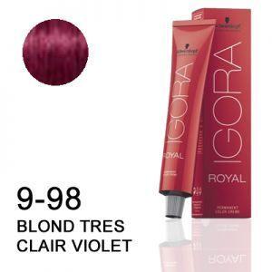 Schwarzkopf Igora Royal 9-98 Blond très clair violet