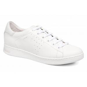 Geox Jaysen A,Baskets Basses Femme,Blanc (White), 42