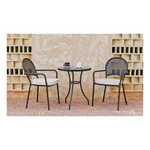 Hévéa Belfast 60/2 - Ensemble de jardin avec 2 fauteuils