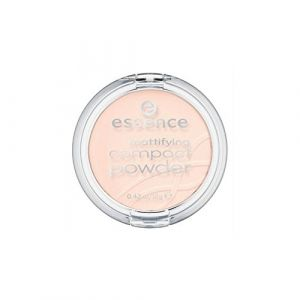 Essence Teint Poudre et rouge à lèvres Mattifying Compact Powder N° 11 Pastel Beige 12 g