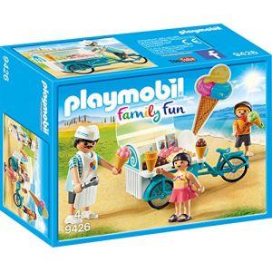 Playmobil Marchand de glaces et triporteur Family Fun 9436