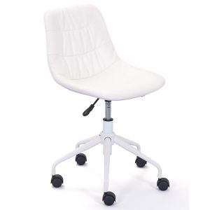 Chaise de Bureau Cyros Blanc