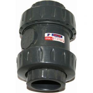 Astore Ø 50 mm clapet PVC anti-retour à boule