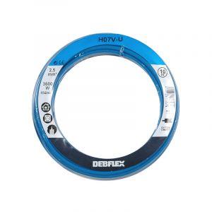 Debflex BOBINOT CABLE RIGIDE 10M HO7V-U 2,5mm² BLEU
