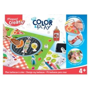 Maped CREATIV - Color&Play - Mon Barbecue à Créer