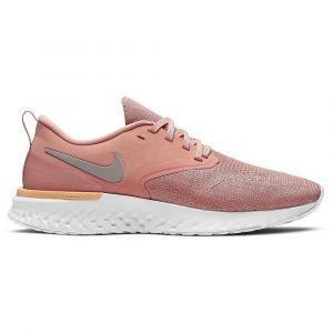 Nike Running Odyssey React 2 Flyknit - Pink Quartz / Pumice / Platinum Tint - Taille EU 41