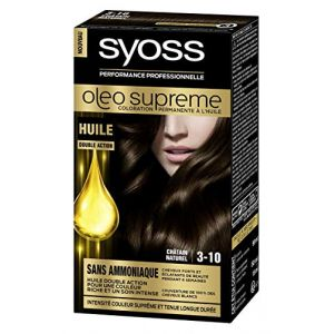 Syoss Oleo suprême - Coloration permanente à l'huile 3-10Châtain naturel