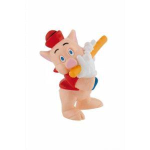 Bullyland Figurine petit cochon avec une flûte (Les Trois Petits Cochons)