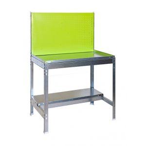 Simon Rack Établi métallique pour outils de jardin KIT SIMONGARDEN BT2 - 1440 x 900 x 400 mm - Vert - 77G100224149042