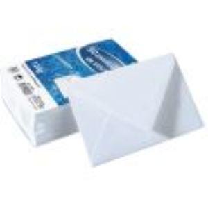 Majuscule 50 enveloppes visite 9 x 14 cm (120 g)