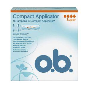 o.b. Pro Comfort - 16 tampons hygiéniques Super avec applicateur