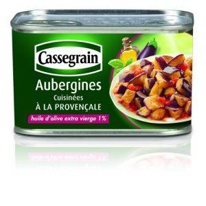 Cassegrain Confit d'aubergines, à l'huile d'olive - La boîte de 375g