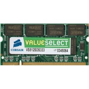 Corsair VS2GSDSKIT667D2 - Barrettes mémoire Value Select 2 x 1 Go DDR2 667 MHz CL5 200 broches