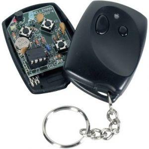 Velleman Télécommande 2 canaux 433 MHz kit monté alim Portée max. (en champ libre) 30 m VM130T