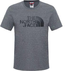 The North Face Men's S/S Easy Tee medium grey heather