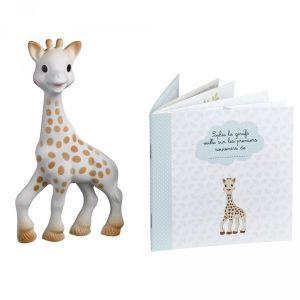 Vulli Sophie la girafe avec mini livre souvenir
