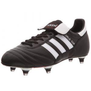 Adidas World Cup SG - Crampons de Foot - Noir/Blanc - taille 45.3