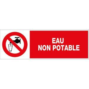 Novap Panneaux information / obligation divers - Eau non potable