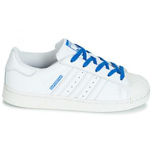 Adidas Chaussures enfant SUPERSTAR C blanc - Taille 28,29,30,31,32,33,34,35,33 1/2,31 1/2,30 1/2,28 1/2
