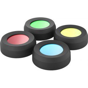 Led lenser Filtres 4 couleurs 36mm pour MH10 H8R H14.2 H14R.2,