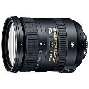 Nikon JAA813DA - Objectif à zoom - 18 mm - 200 mm - f/3.5-5.6 G ED AF-S DX VR II - Nikon F