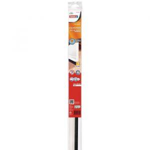 Tesa Bas de porte adhésif plastique blanc 1 m x 40 mm Bas de porte