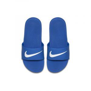 Nike Claquette Kawa pour Jeune enfant/Enfant plus âgé - Bleu - Taille 32 - Unisex