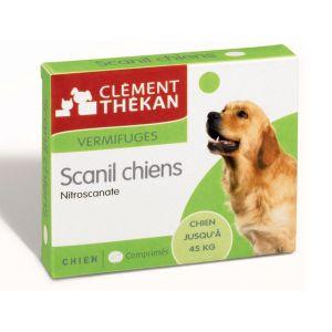 Clément Thékan Scanil chiens vermifuges 4 comprimés