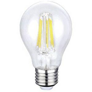 Sygonix Ampoule LED E27 SPC6D-E27-A60C-T-1WW-AC220V forme standard 6 W = 60 W blanc chaud (Ø x L) 60 mm x 106 mm EEC: cl
