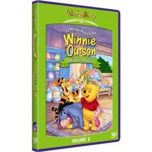 Le Monde magique de Winnie l'Ourson - Vol.5 : Amis pour toujours [DVD]