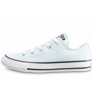 Converse YTH C/T All Star Ox, Unisex 30 Teal Tint/Natural Ivory/White Junior
