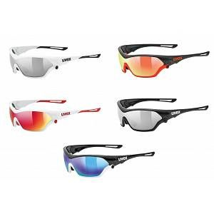 Uvex Sportstyle 705 Mirror Red/CAT3 + Reflective Orange/CAT1 + Clear/CAT0 FR DHL:13.95,FR GLS:5.95,FR MONDIAL RELAY:4.95,FR Laposte:5.45 White/Red