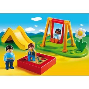 Playmobil 6785 - 1.2.3 : Enfants et parc de jeux