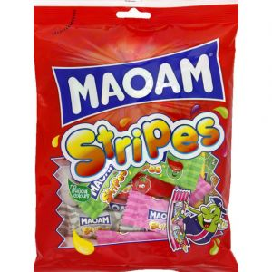 Maoam Bonbons à mâcher Stripes - Le paquet de 250g