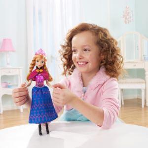 Mattel Poupée La Reine des neiges : Princesse lumière Anna