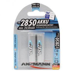 Ansmann Batterie rechargeable NiMh AA (LR06) 2850mAh x2