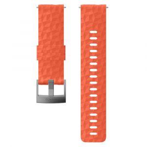Suunto Bracelet Explore 1 Silicone - 24 mm Accessoires montres/ Bracelets Orange - Taille TU