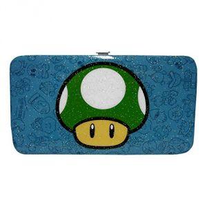 Portefeuille champignon vert Mario Nintendo