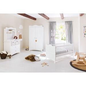 Pinolino 100023BR - Chambre bébé complète Florentina avec étagère