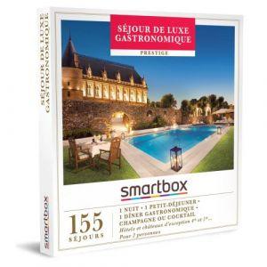 Smartbox Coffret cadeau Séjour de luxe gastronomique