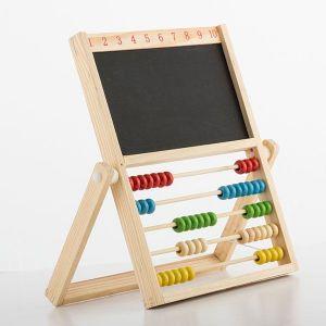 Abacus Boulier avec ardoise double pour enfant