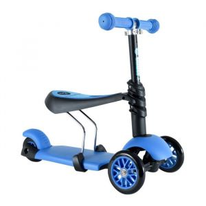 Mondo Patinette 3 roues évolutive 3 en 1 - bleu