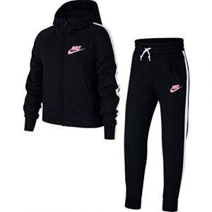 Nike Survêtement Sportswear pour Fille plus âgée - Noir - Couleur Noir - Taille XS