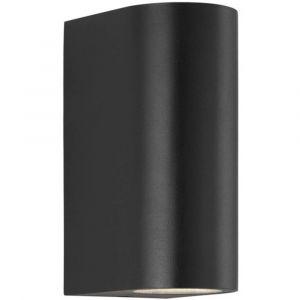 Nordlux Applique murale LED extérieure Asbol 84971003 LED intégrée noir
