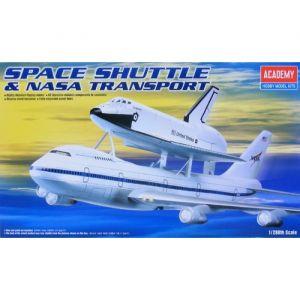 Academy Maquette spatiale - fusée, navette, etc. - 747 + Shuttle (WAS AC1640)-