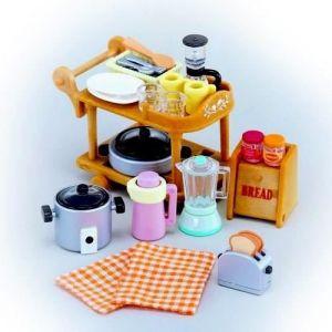 Epoch Sylvanian Families 2819 : Batterie de cuisine