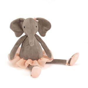 Jellycat Peluche Dancing Darcey Elephant