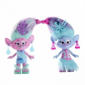 Hasbro Set de 2 figurines Trolls 22 cm