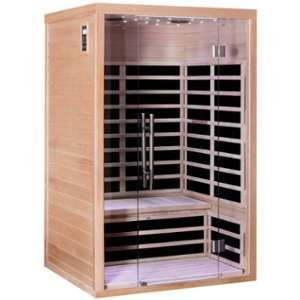 Sno Sauna infrarouge panneaux carbone 1840W LUXE 2 places